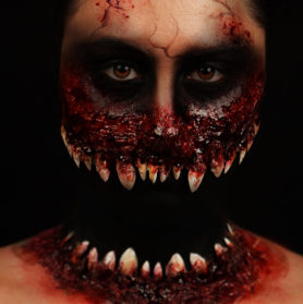 2*Maquillage Halloween